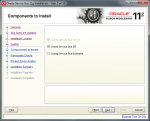Oracle Service Bus 11.1.1.5 Installation - Step 6