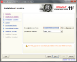 Oracle Service Bus 11.1.1.5 Installation - Step 4